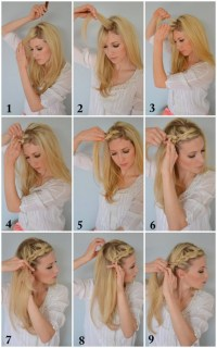 The Boho Crown Braid Tutorial