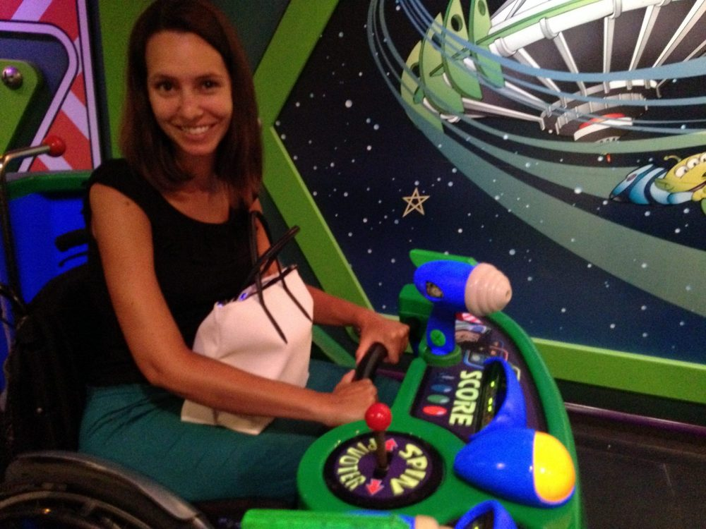 Accessible Space Craft at Disneyland Paris