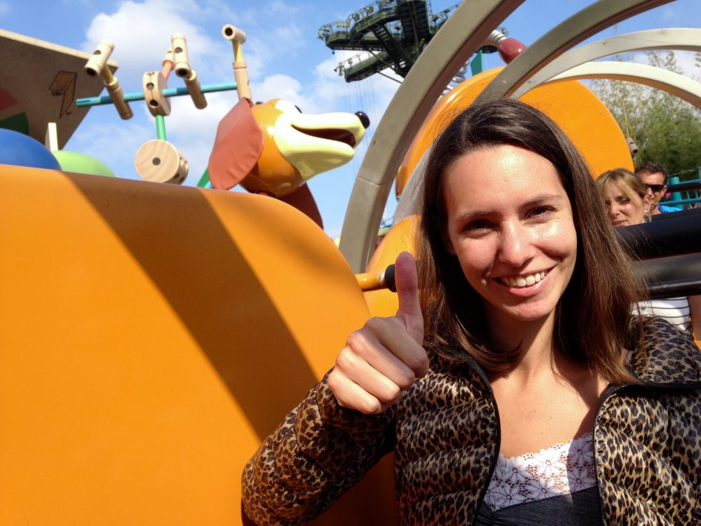 Slinky Dog at Disneyland Paris