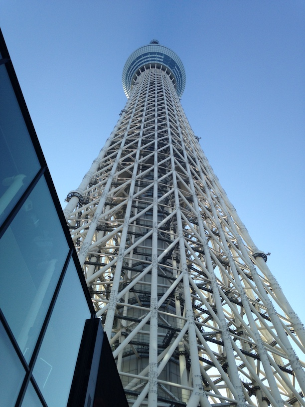 Tokyo Skytree by day