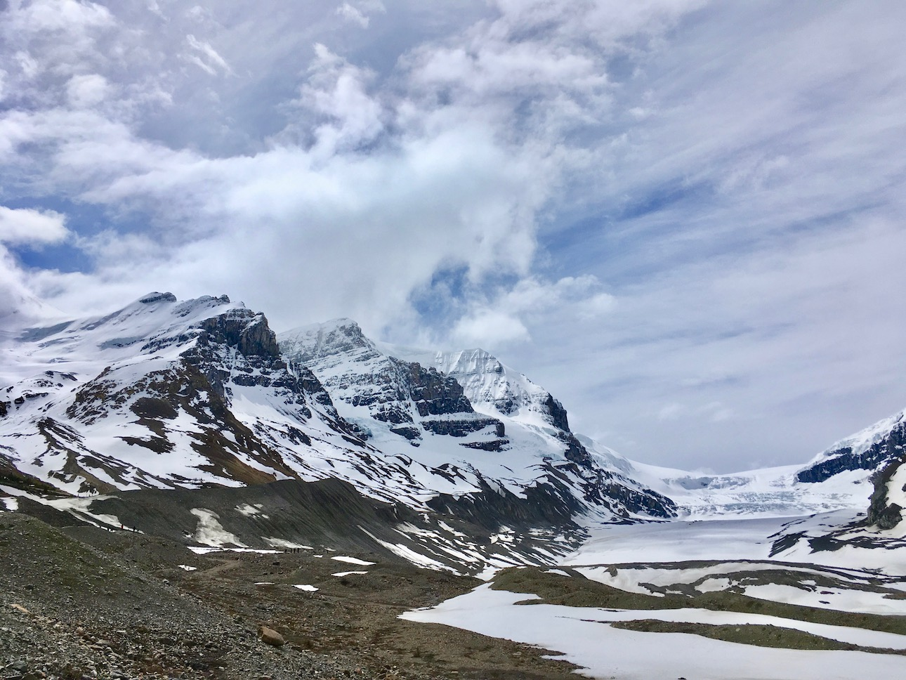 Athabasca Glacier, Columbia Icefield, Jasper NP