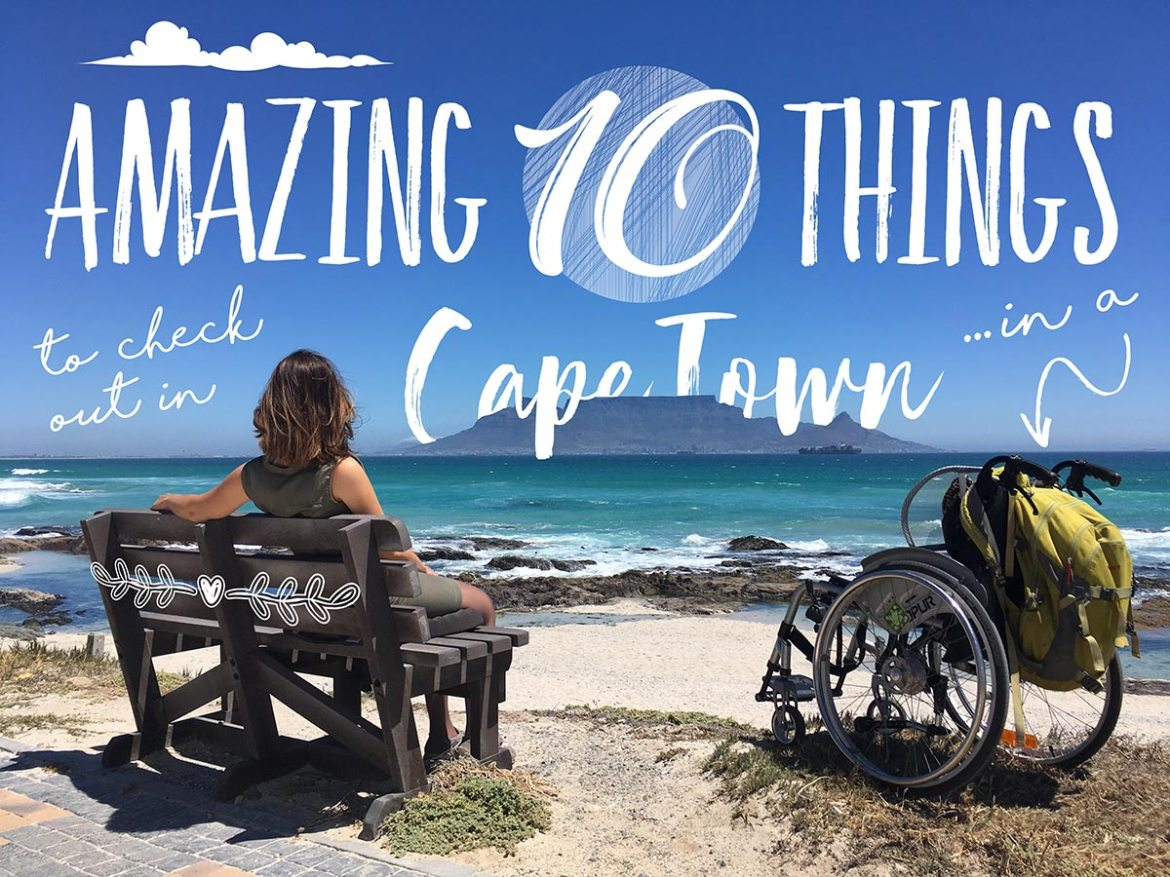 10 wheelchair-friendly things to do in Cape Town