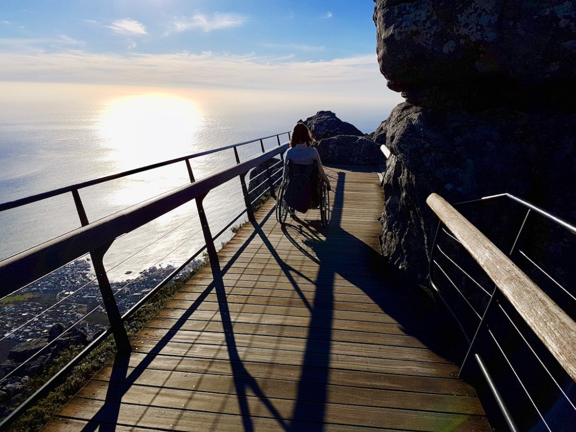 Wheelchair-accessible round course on Table Mountain | Little Miss Turtle