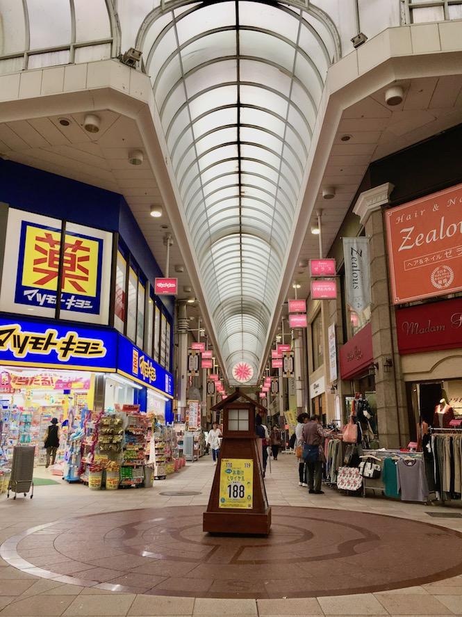 Tenmonkan dori Kagoshima | Little Miss Turtle
