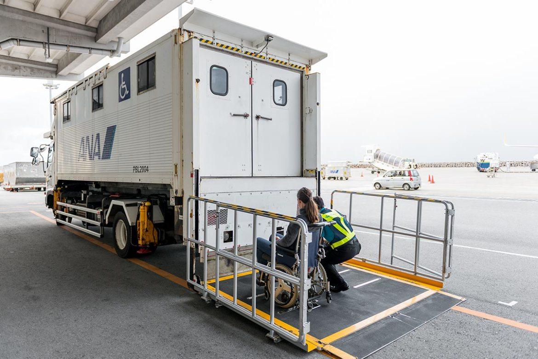 Naha Airport Wheelchair Assistance | Little Miss Turtle | Wheelchair Travel Blog