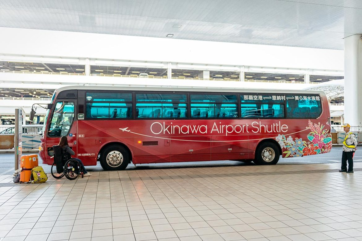 Okinawa Airport Shuttle | Little Miss Turtle | Wheelchair Travel Blog