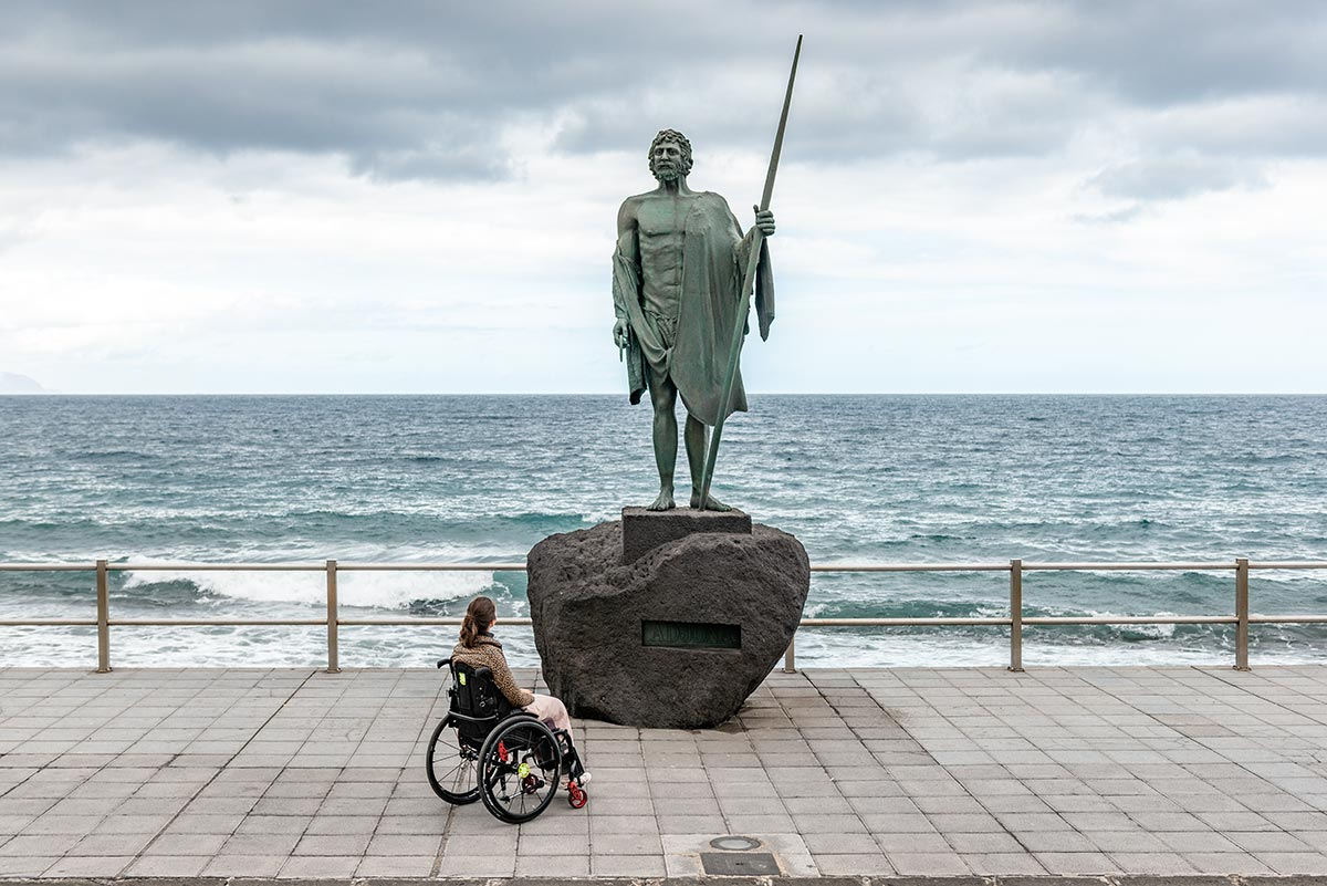 A wheelchair and the Guanche King