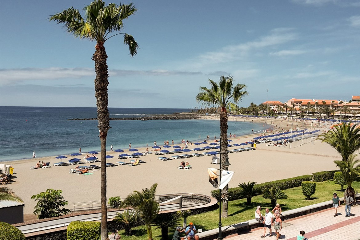 Accessible Playa de las Vistas in Los Cristianos