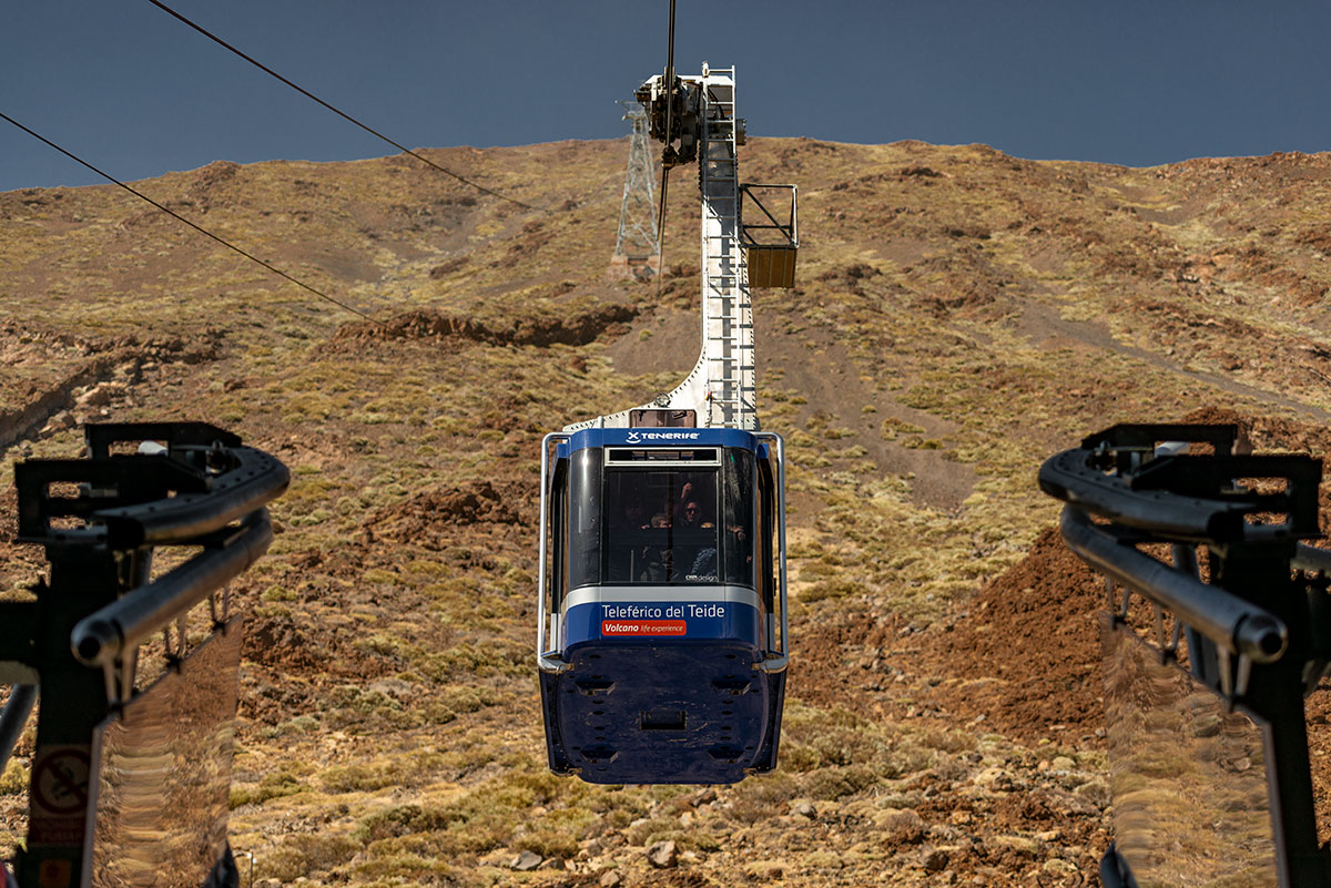 Teide Cable Car in Teide National Park