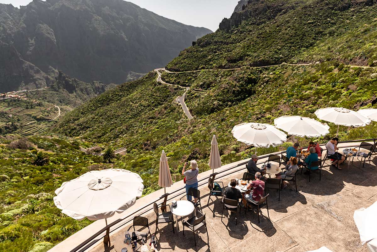 Terrace at Mirador de la Cruz de Hilda
