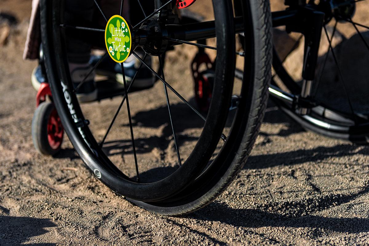 Wheels on Roques de García Trail