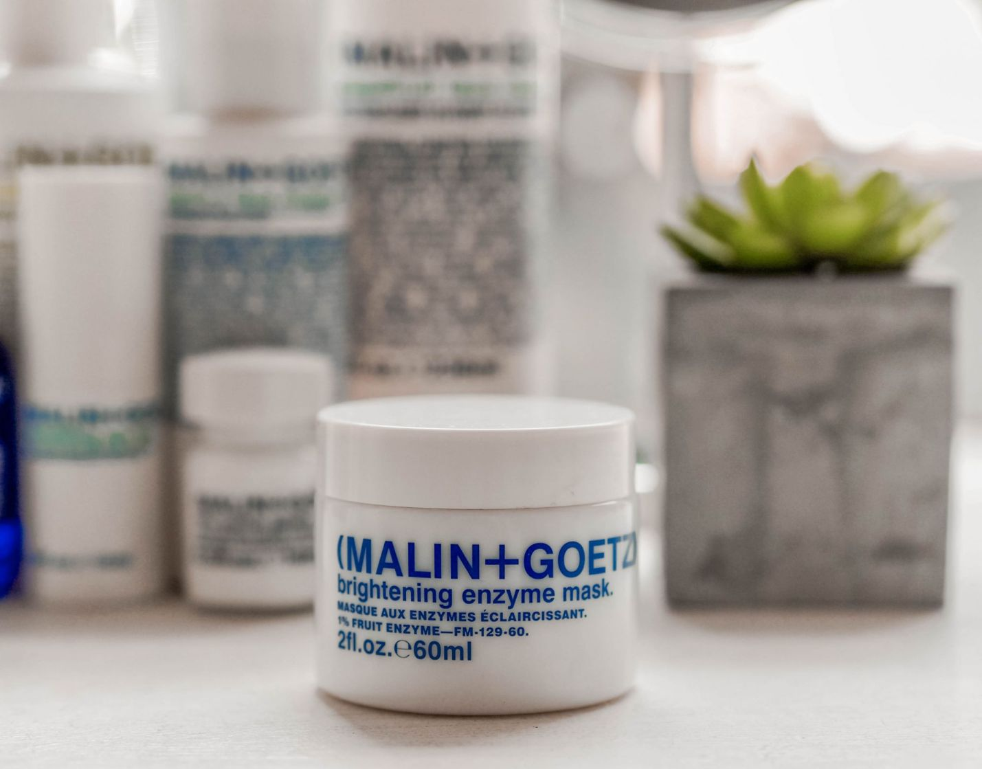 Malin and Goetz Skincare Kate Winney brightning enzyme mask