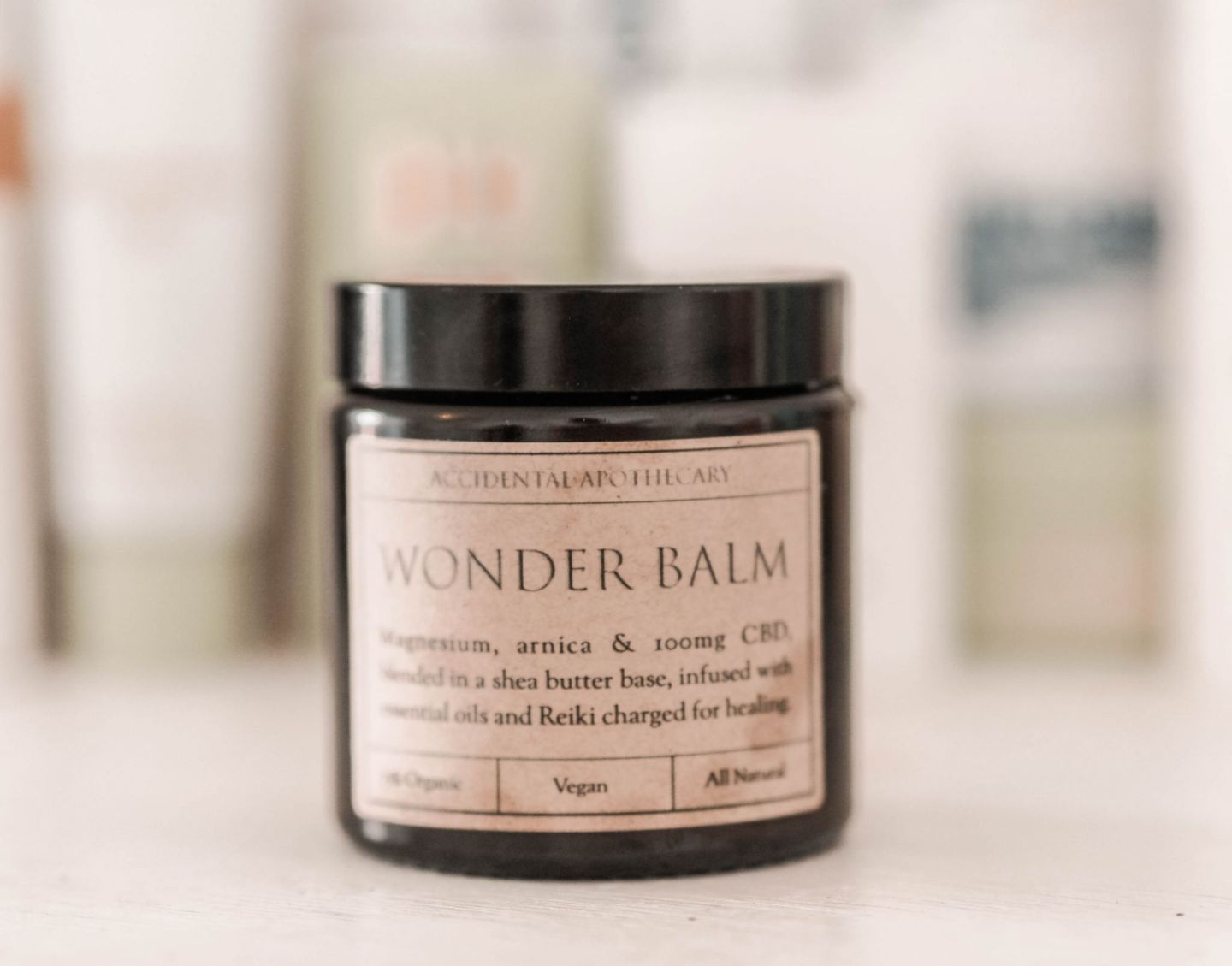 wonderbalm accidental apothecary arnica magnesium pain relief