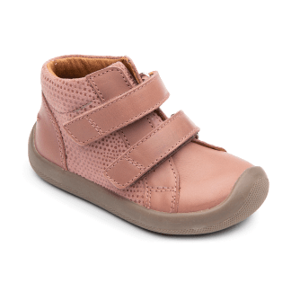BUNDGAARD | THE WALK VELCRO BEGYNDERSKO, ROSE