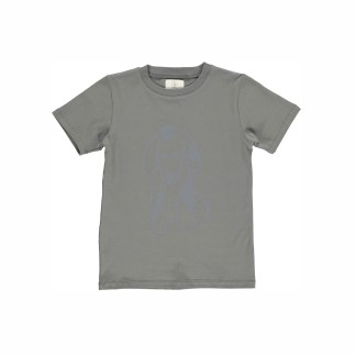 GRO | NORR T-SHIRT, GREY GREEN