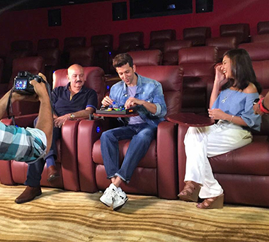 theater seating sofa sleeper redo sectional recliners chairs in india, home ...