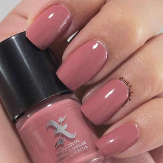 Formula X nail polish in Lovecraft; Nail swatch