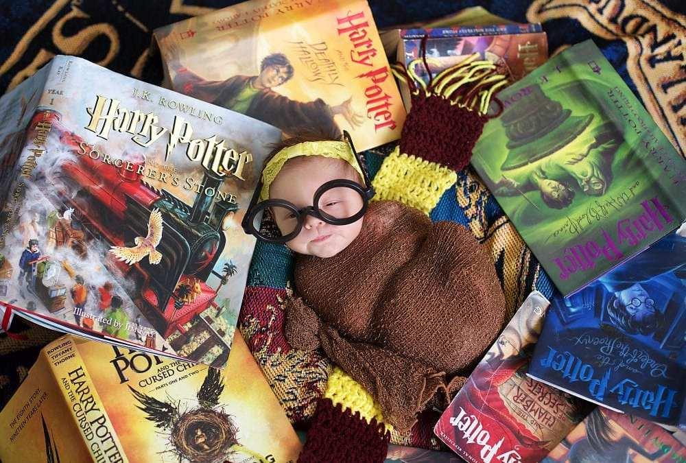 All Harry Potter Fans | Maine Newborn Photographer