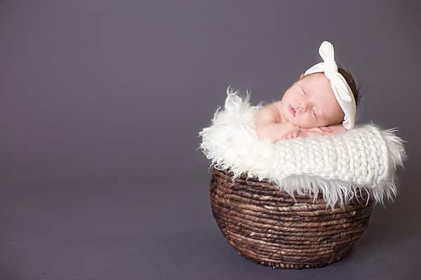Just A Baby Girl | Southern Maine Newborn Photographer