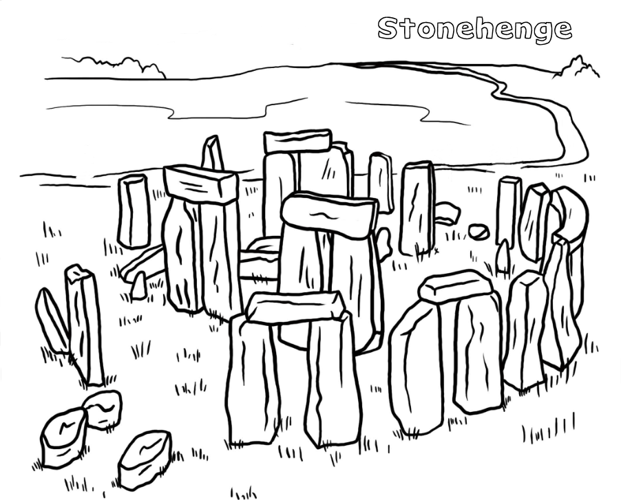Sacred Places Coloring Pages