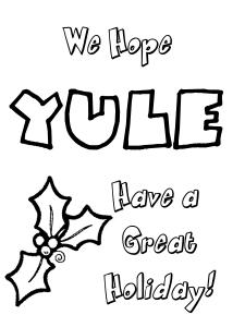 Yule Greeting Cards