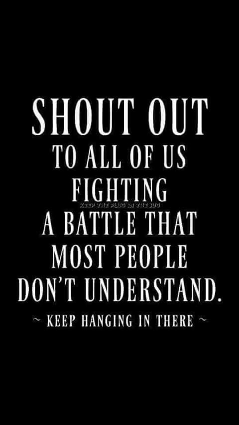 shout out to invisible illness sufferers