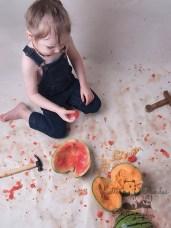 Melon smash aftermath