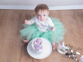 Little girl cake smash tutu