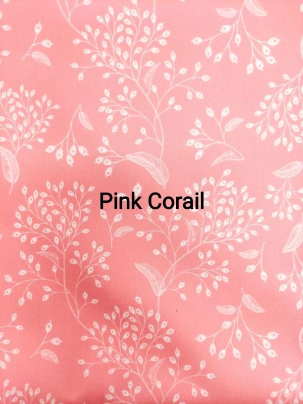 lingettes lavables pink corail