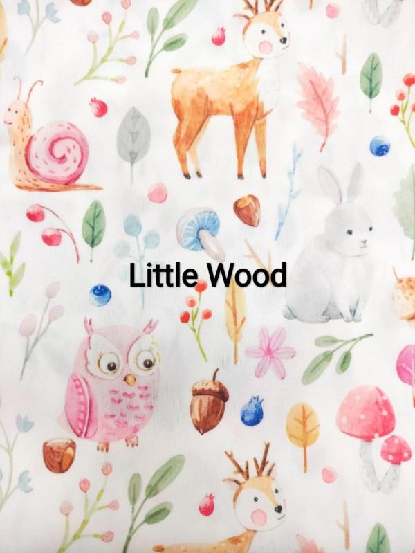 lingettes lavables little wood