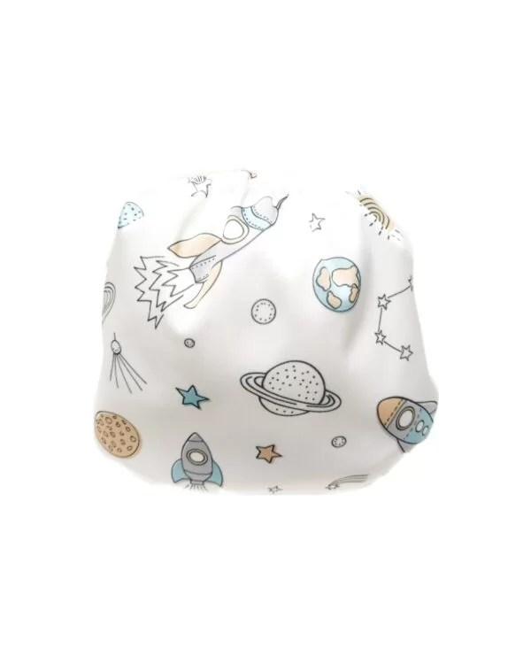 couches de bain lavables pour bébé spatial