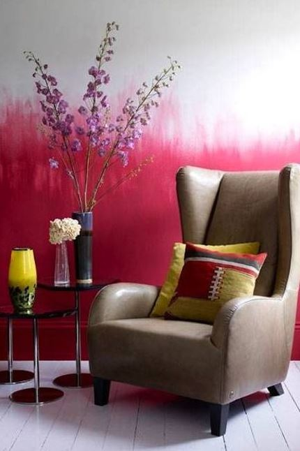 You know the wall needs something, but you'. How to paint ombre walls tips - 20 Ombre wall paint ideas