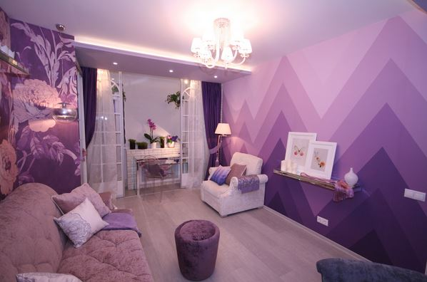 decorating ideas for the living room walls high end chairs how to paint ombre tips - 20 wall ...