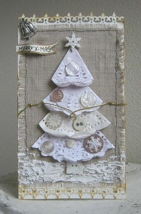 Homemade Christmas Cards Ideas Little Piece Of Me