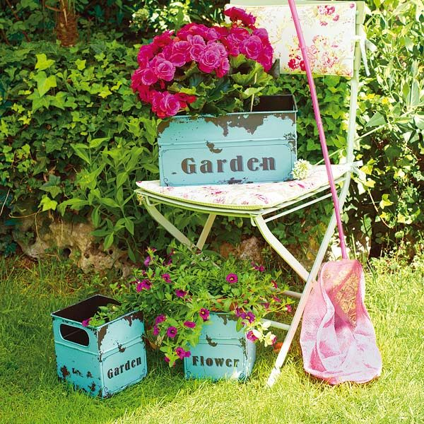 Vintage Garden Decor Ideas LittlePieceOfMe