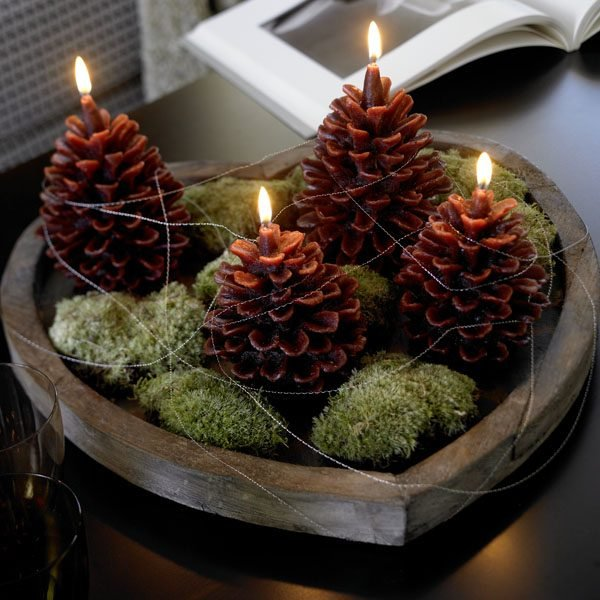 Pine Cone Decorating Ideas Little Piece Of Me