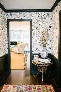 26 Hallway wallpaper decorating ideas - Little Piece Of Me