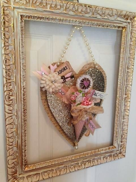Shabby Chic Decor For Most Romantic Valentines Day