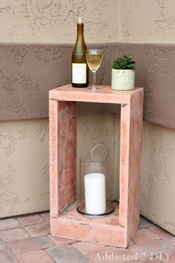 Diy concrete projects for fancy home decor  Little Piece