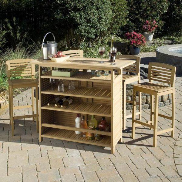 Cheap Ideas For Decorating Your Garden 18 Outdoor Garden Bar