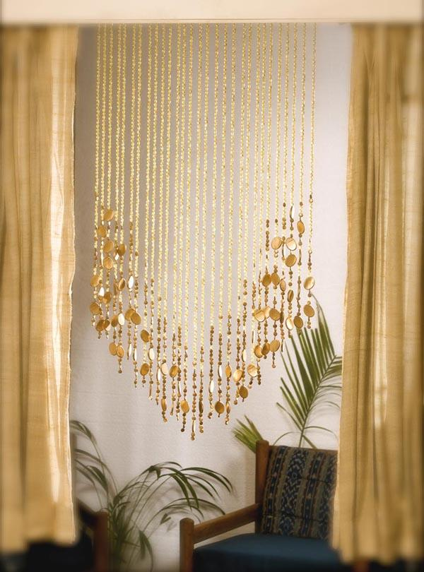 Beaded curtains  add a charming feature in your home  Little Piece Of Me