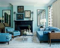 Turquoise living room decor - Little Piece Of Me