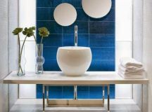 Blue and white interior design - Little Piece Of Me