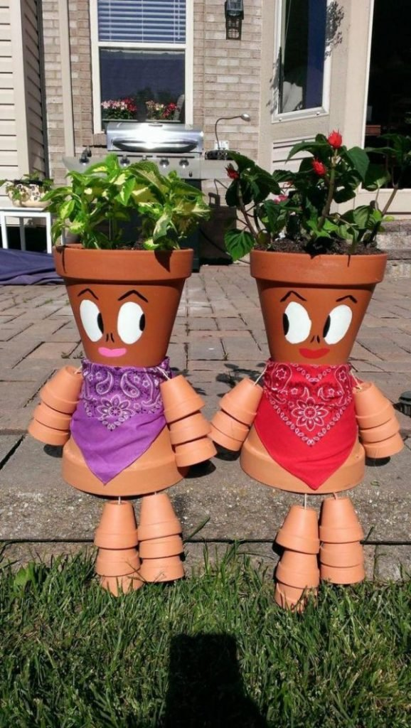 Garden Planters Terracotta