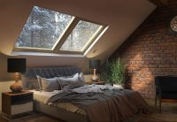 Sleeping under the stars - Bedroom skylight ideas - Little ...
