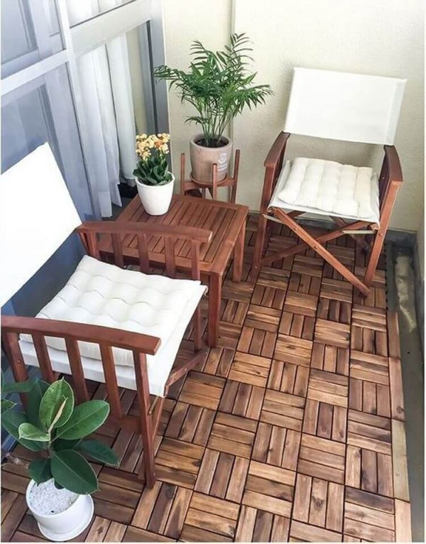 balcony chair and table set