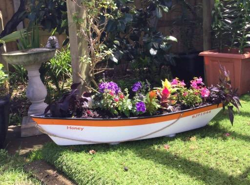 nautical garden planters