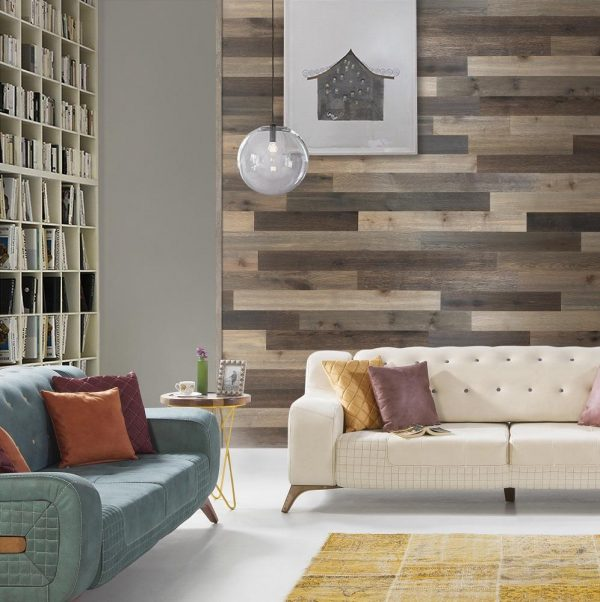shiplap wood wall