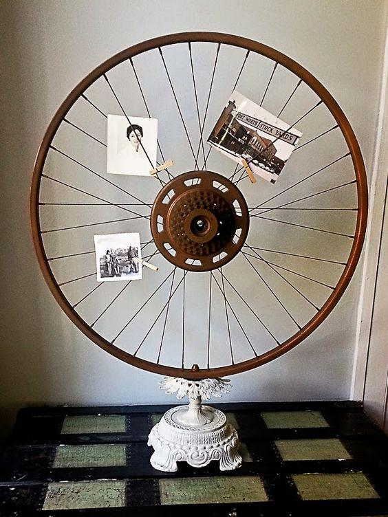 bicycle wheel crafts