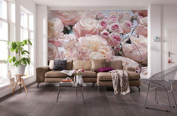 Lovely decoration with roses
